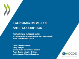 ECONOMIC  IMPACT OF  ANTI- CORRUPTION