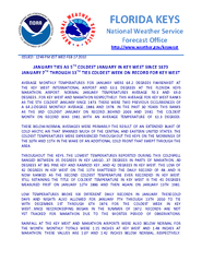 FLORIDA KEYS National Weather Service Forecast Office