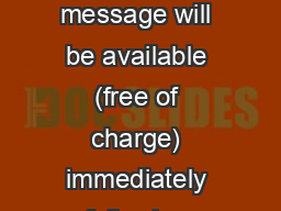 2:11-23 A CD of this message will be available (free of charge) immediately following today�s ser