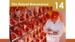 14 The Federal Bureaucracy