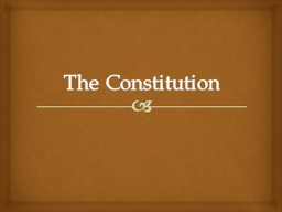 The Constitution Articulate the problems the Anti-federalists believed would arise from extending t
