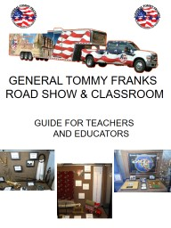 GENERAL TOMMY FRANKS   ROAD SHOW & CLASSROOM