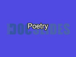 Poetry Bellwork : Answer the questions on the sheet (Poetry Warm-Up) you took from the table.