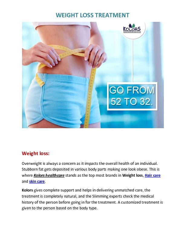 Best weight loss clinic in Hyderabad | Slimming centers in Hyderabad