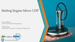 Stirling  Engine Micro CHP