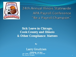 24th Annual Illinois Statewide