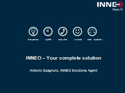 INNEO �  Your complete solution