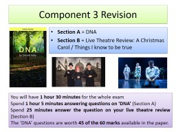 Component 3 Revision Section A