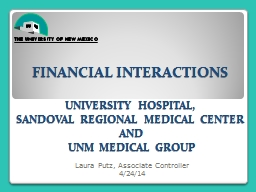 Financial interactions