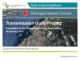 Wellington Northern Corridor