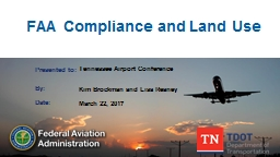 FAA Compliance and Land Use