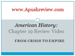 From Crisis to Empire American History: