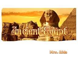 Mrs.  Rida   Overview Ancient Egyptian civilization