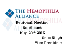 Regional Meeting Southeast