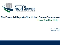 The Financial Report of