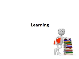 Learning Learning   Styles