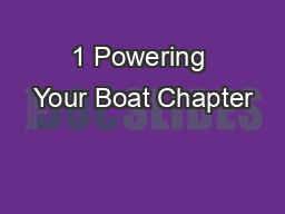 1 Powering Your Boat Chapter