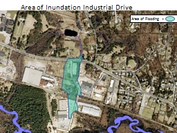 Area of Inundation Industrial Drive