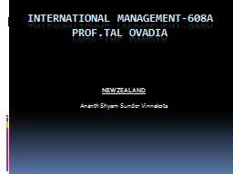 INTERNATIONAL MANAGEMENT-608A