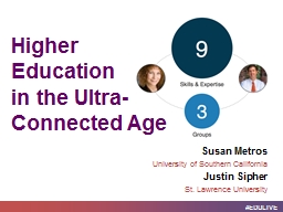Higher Education  in  the