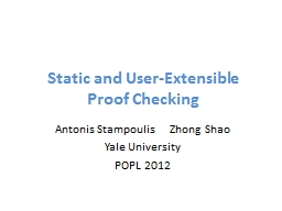 Static and User-Extensible PowerPoint Presentation, PPT - DocSlides