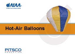 Hot-Air Balloons Activity Overview