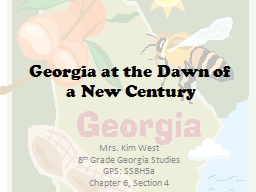 Westward Expansion: Georgia's Growth & Development, 1789-1840