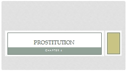 Chapter 4 Prostitution Points of Contention