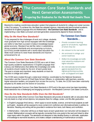 the Common Core State Standards Why Do We Need New Sta