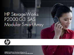 HP  StorageWorks P2000 G3 SAS Modular Smart Array
