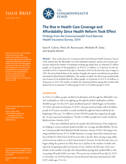 Issue Brief Th COMMONWEAL TH FUND Issue Brief January