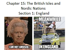 Chapter 15: The British Isles and Nordic Nations