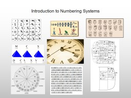 Introduction to Numbering Systems and Binary