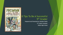 8  Tips   T o Be  A  Successful
