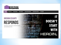 Brown County, Wisconsin Heroin Response Initiative
