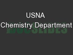 USNA Chemistry Department