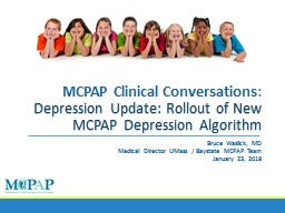MCPAP Clinical Conversations