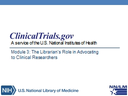 A service of the U.S. National Institutes of Health