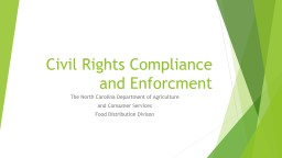Civil Rights Compliance and Enforcement