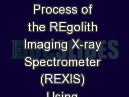 Improving the Design Process of the REgolith Imaging X-ray Spectrometer (REXIS) Using Model-Based S