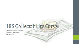 IRS Collectability Curve