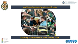 Welsh Ambulance Services NHS Trust