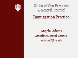 Angela Adams Associate General Counsel