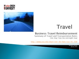 Travel Business Travel Reimbursement