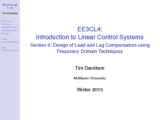 EE CL     Tim Davidson Frequency Domain Approach to Co