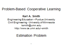 1 Problem-Based Cooperative Learning
