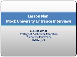 Melissa Taylor College of Continuing Education
