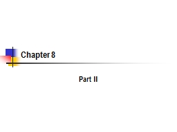 Chapter 8 Part II 2 Government as Database