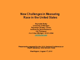 New Challenges in Measuring