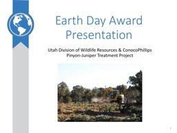 Earth Day Award Presentation